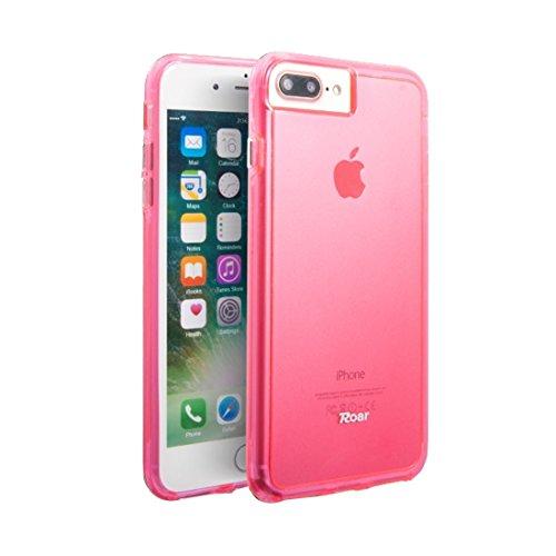 MXNET Iphone 7 Plus Fall, weicher TPU Stoßstange + harter PC Haut-Kombinationsfall CASE FÜR IPHONE 7 PLUS ( Color : Magenta )