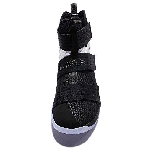 Nike Junior T90 schießen IV Astro Turf Fußballschuhe Schwarz / Schwarz-Weiß
