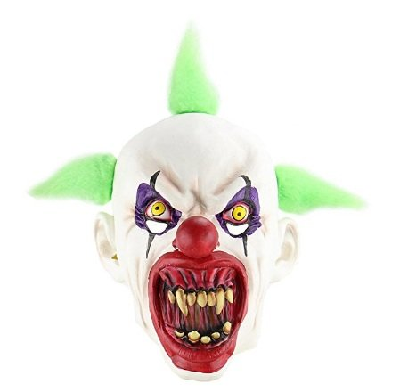 Scary Halloween Mask,Creepy Halloween Cosplay Costume for Halloween Party Favors or Huanted House Decoration Props