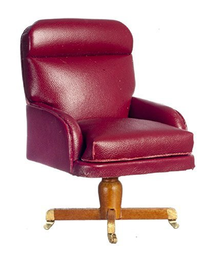 Melody Jane Dollhouse Gerald Ford Oval Office Desk Chair Miniature Study by Melody