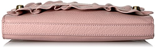 Dusty Rose Zip Ruffle Top Astor Clutch MILLY BHzY8XWH