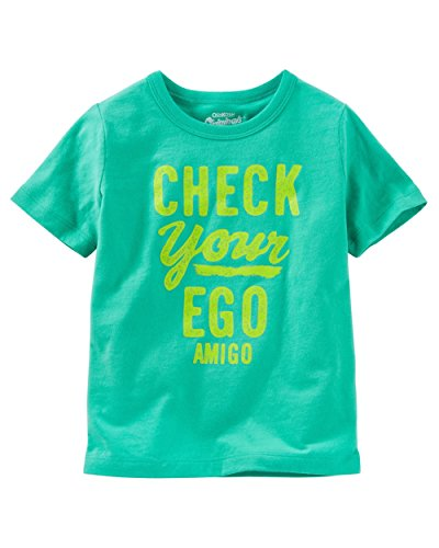 Price comparison product image OshKosh B'Gosh Baby Boys' Graphic Tee,  9 Months