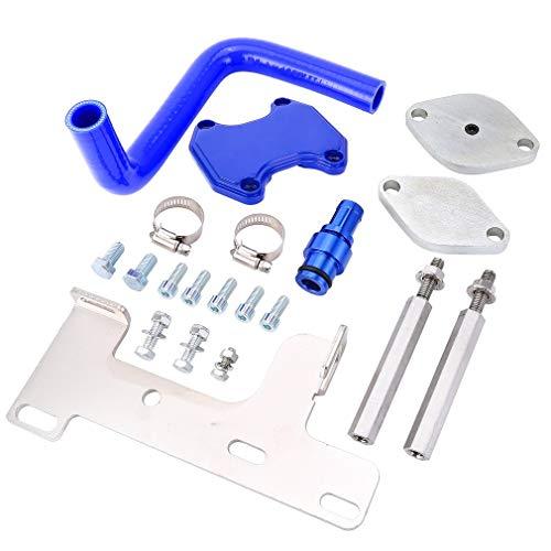 (Simoner Diesel EGR Cooler and Throttle Valve Kit, Filtration System Kit RAM 2500-3500 for 2007-2009 Dodge Ram 6.7L Cummins Diesel)