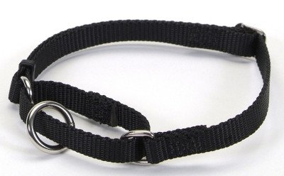 "COASTAL PET PRODUCTS, INC. - 6307 3/8"""" ADJUSTABLE COLLAR (6-10"""" BLACK) ""Ctg: DOG PRODUCTS - DOG COLLARS & LEADS - NYLON"""