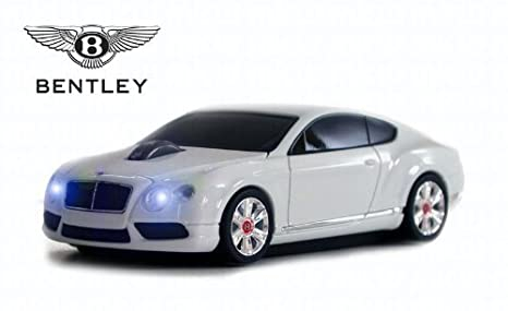 Amazon Com Bentley Continental Gt V8 Wireless Mouse White