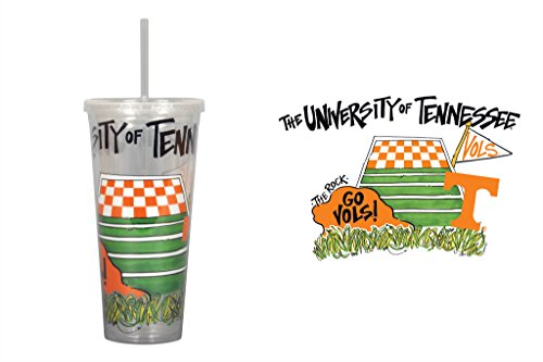 University of Tennessee 22oz Tumbler with Straw -