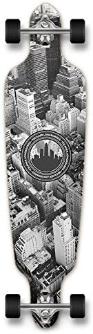 New Graphics Drop Through Complete Longboard Professional Speed Skateboard New York