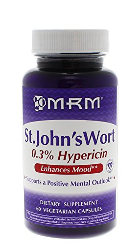 UPC 609492540102, MRM St. John's Wort 0.3% Hypericin 450 Mg Vegetarian Capsules, 60 Count