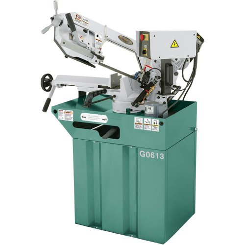 Grizzly G0613 Swivel Metal-Cutting Bandsaw, 7 x 8-1/4-Inch by Grizzly
