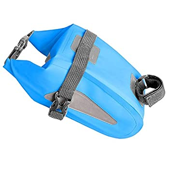Bike Accessories,Dartphew 1Pcs [ Mountain Bike Riding Equipment Bag ] Outdoor Bicycle Bag – for Outdoor Cycling – Double-sided PU Waterproof(Size:18x12x11cm)
