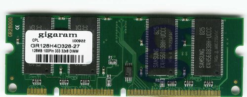 Gigaram 128MB 100pin PC2700(333Mhz) 32x8 DDR SODIMM