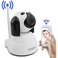 Baby Monitor IP Camera WiFi Surveillance Camera HD 720P Cute Pet Camera Nanny Cam with Motion Detection Two Way Audio and Night Vision for Home Security System