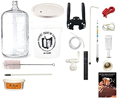 BSG Gold DP-GFZY-7I2K Beer Homebrew Kit with 6 Gallon Glass Carboy
