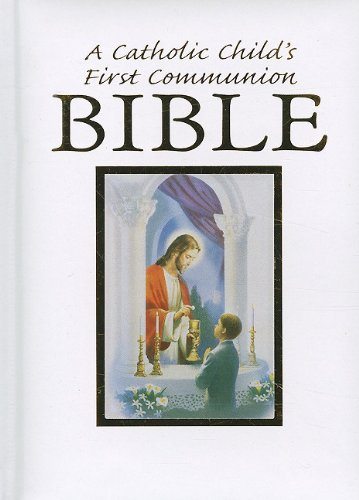 Catholic Child's Traditions First Communion Gift Bible-Nab-Boy