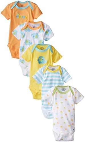 Gerber Unisex Baby Onesies (Pack of 5)