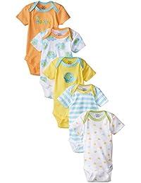 Unisex Baby 5-Pack Short-Sleeve Onesies