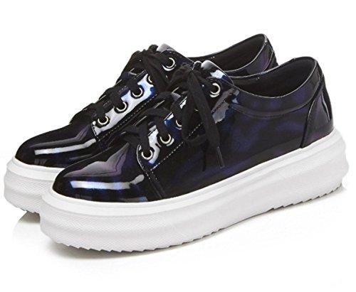 scarpe Mei con dimensioni scarpe sportiva legato grandi casual spessore autunno scarpa Light sandali donna TqzFT4r