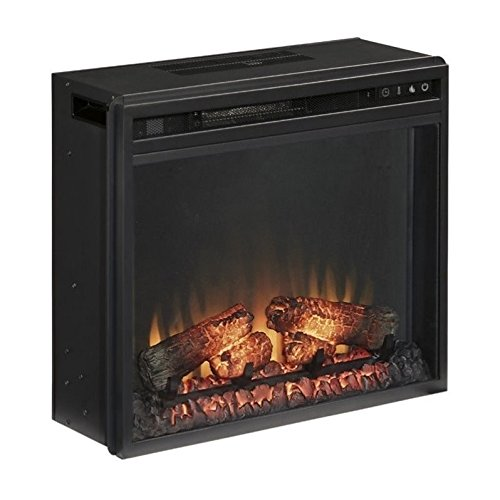 BOWERY HILL Fireplace Insert in Black
