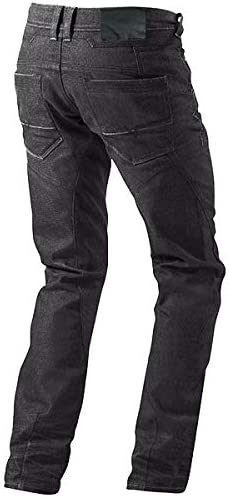 Black, W 48 L 32 JET Motorcycle Jeans Kevlar Safety Trousers Aramid Lined Jeans Armoured