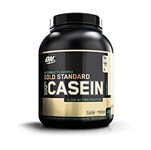 Optimum Nutrition Gold Standard 100% Micellar Casein Protein Powder, Slow Digesting, Helps Keep You Full, Overnight Muscle Recovery, Naturally Flavored French Vanilla, 4 Pound