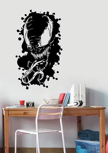 Amazon.com: Venom Wall Sticker Marvel Comics Superhero Vinyl ...