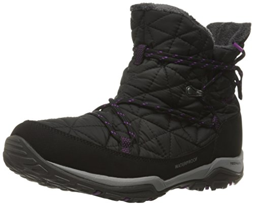 Columbia Women's Loveland Shorty Omni-Heat Snow Boot, Black/Bright Plum, 9 B - Shops Loveland