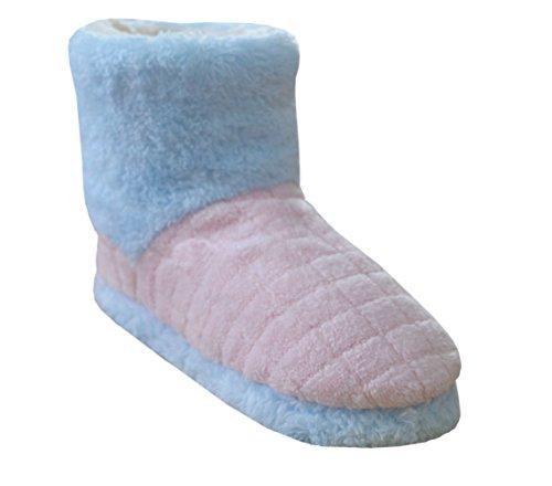 acogedor interior 100 puntera turco Zapatillas House suave Slide de Premium europeansoftest algodón Spa abierta Rosado rizo Mujer paño 8YnZqnxB5w
