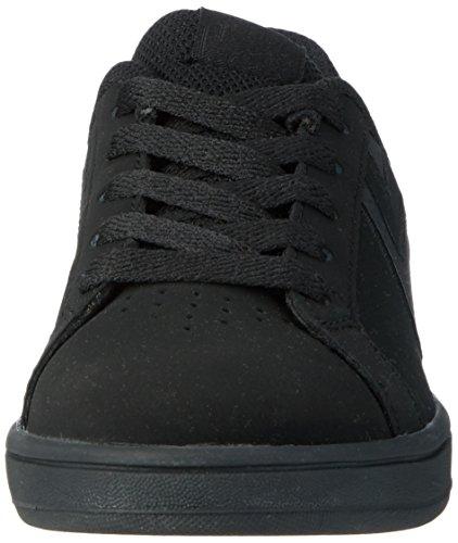 Etnies Kids Fader Ls, Color: Black Dirty Wash, Size: 3.5C US