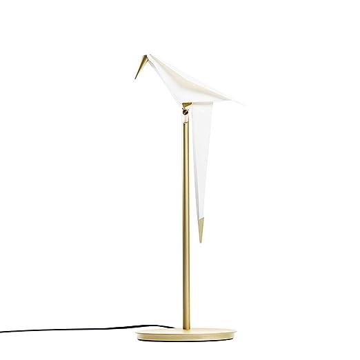 KQKLQQ Lámparas de Mesa - Estudio de Aves Mil Grúa de Papel de la ...