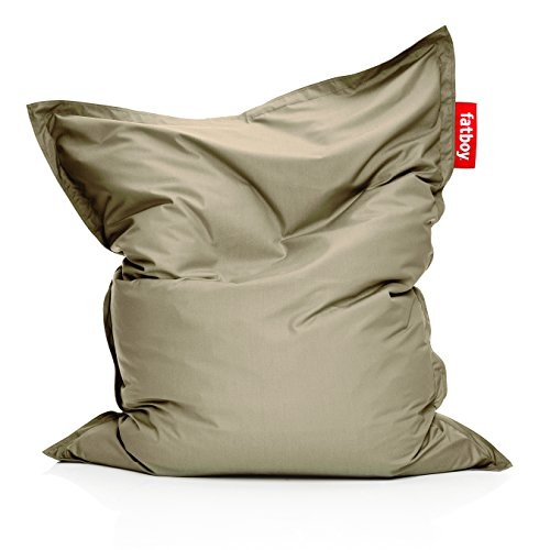 Fatboy JKTFLD-STP The Original Outdoor Bean Bag Chair, Sandy Taupe