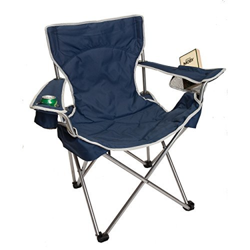 Big Gun Deluxe Camp Chair, Navy by OAG