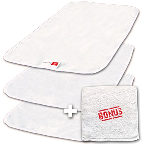 BIESKIN Changing Pad Liners 3–PACK, Waterproof Baby Diaper...