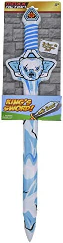 Sunny Days Entertainment Foam Sword – Medieval King's Warrior Toy Sword Accessory For Kids | 24 Inches Long For Indoor And Outdoor Role Play Fun | Colors And Styles May Vary – Maxx Action