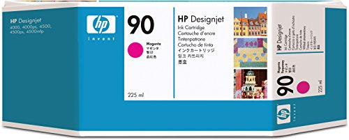 Hewlett Packard C5062A HP 90 225-ml Magenta DesignJet Ink Cartridge