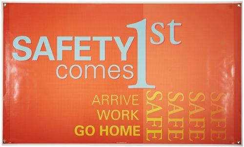 Motivational Safety Banner - NMC BT545 Motivational and Safety Banner, Legend