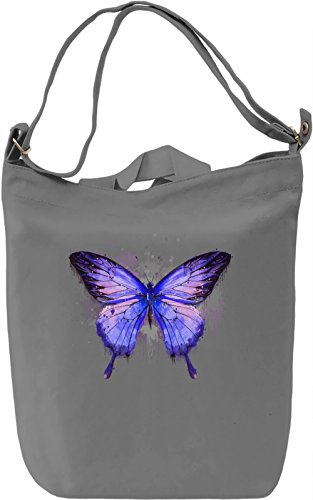 Colourful Butterfly Borsa Giornaliera Canvas Canvas Day Bag| 100% Premium Cotton Canvas| DTG Printing|
