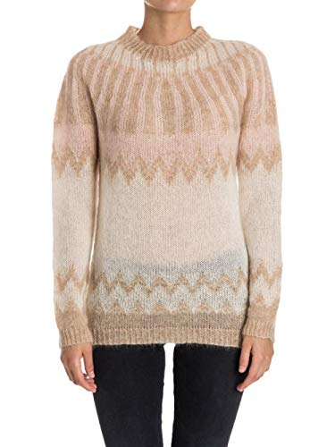 Donna Maglia Light Woolrich Sweater Beige Mohair W's Cream WpWqAX