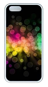 Colorful circle TPU White shop iphone 5S case for Apple iPhone 5/5S