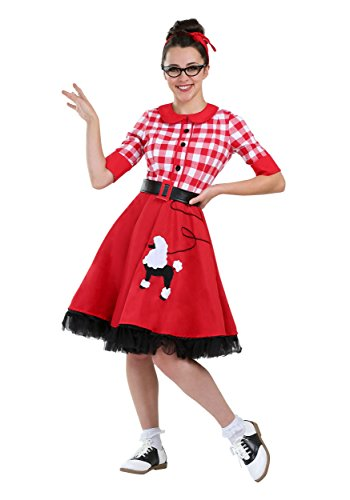 Darling Womens Costumes (50s Darling Plus Size Women's Costume 2X)