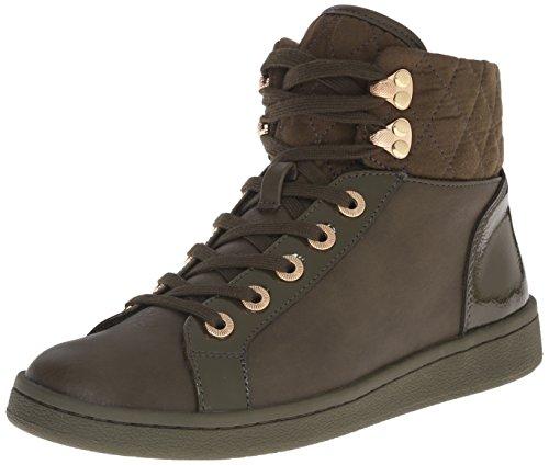 Aldo Women's Elza Fashion Sneaker, Khaki, 6 B US 41dedGqhByL