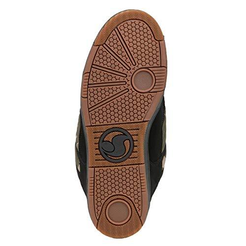 Scarpe Nero Mimetico Uomo 125 Dvs Da Shoes Enduro Skateboard 8qvt0