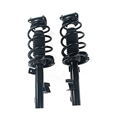 Front Pair Complete Struts Shock Coil Spring Assembly fit for 2004 2005 2006 2007 2008 2009 2010 2011 2012 2013 Mazda 3 & 2006-2010 Mazda 5-172263-172264: Automotive