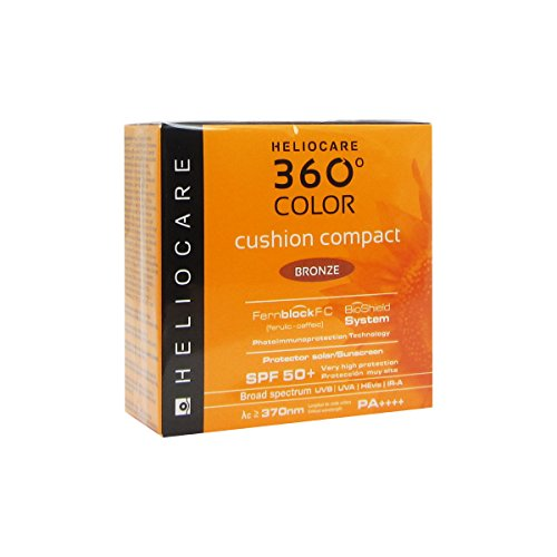 (Heliocare 360 Color Cushion Compact SPF50+ 15g (Bronze))