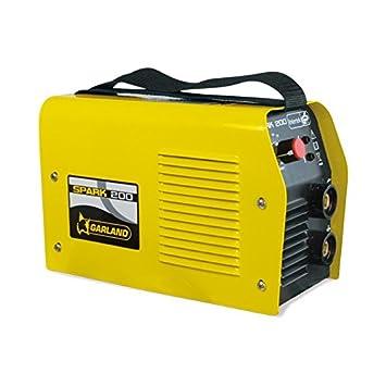 Garland SPARK 200 - Soldador eléctrico, 230 V - 10 / 180 A - Inverter: Amazon.es: Bricolaje y herramientas