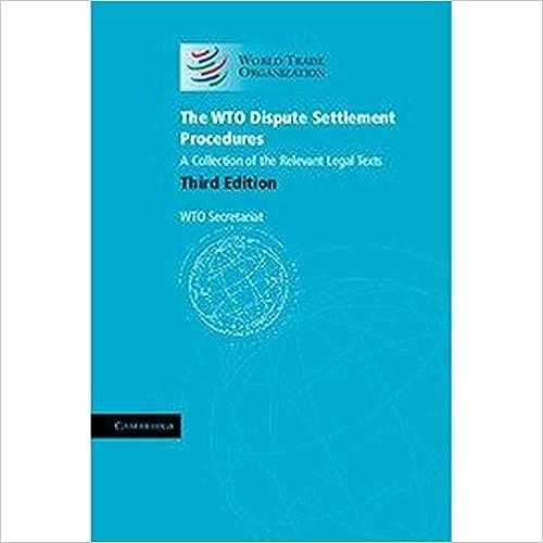 En ligne Le Règlement Des Différends Dans Le Cadre De L'omc 2015: Une Affaire, Une Page 1995-2014 epub, pdf