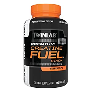 Twinlab Creatine Fuel Stack, Strength, 90 Capsules