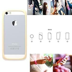 ZXM- caso multifuncional noctilucentes suave silicona suave para el iPhone 5 / 5s (colores surtidos) , 10#