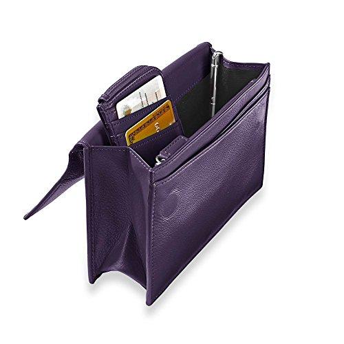 - Levenger RFID Travel Wallet & Passcase W/Walletini Pen - GP