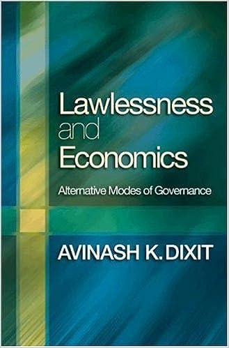 Lawlessness and Economics: Alternative Modes of Governance The Gorman Lectures in Economics: Amazon.es: Dixit, Avinash K.: Libros en idiomas extranjeros