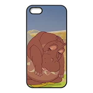 iPhone 4 4s Cell Phone Case Black Disney Fantasia Character Hyacinth Hippo Zspbo